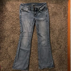 Short Artist Boot Cut Jeans
